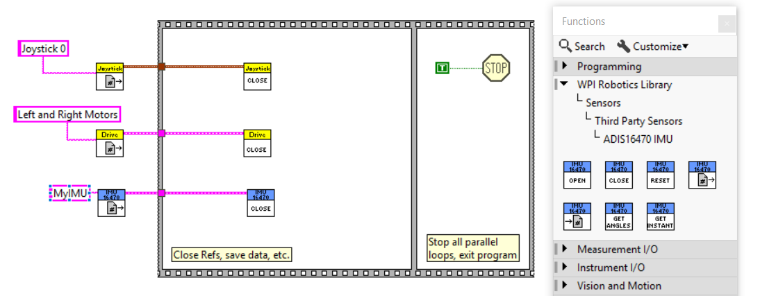 Using the ADIS16470 IMU in LabVIEW [Analog Devices Wiki]