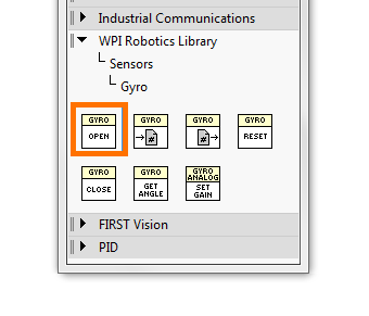 Using the ADXRS450 Gyro for FRC in LabVIEW [Analog Devices Wiki]