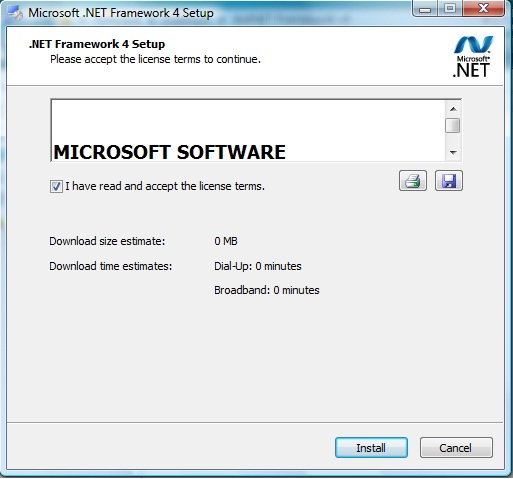 ezLINX™ Quick Start guide for Windows 7 32-bit/64-bit [Analog ... NET Framework v4 Installation