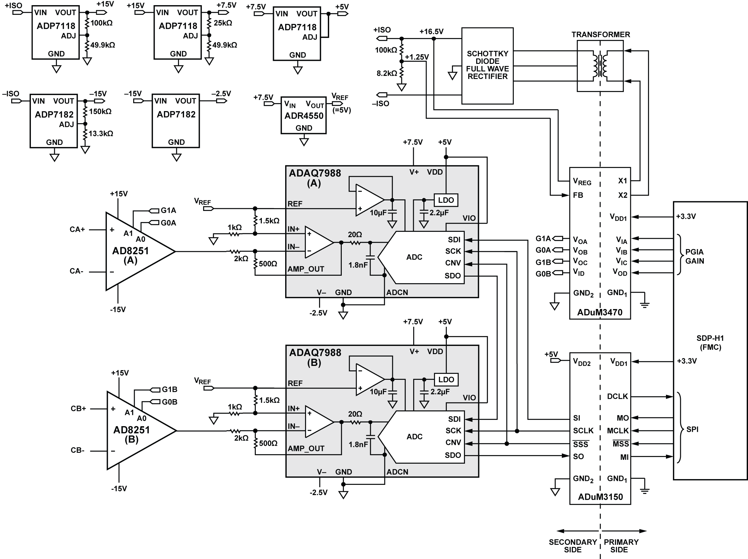 Cn 0393 Evaluation Board And Software User Guide Analog Devices Wiki Circuit Wizard Is A Easy Program To Draw Your Electronic Circuits On Required Equipment