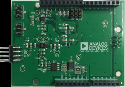 Eval cn ardz shield analog devices wiki