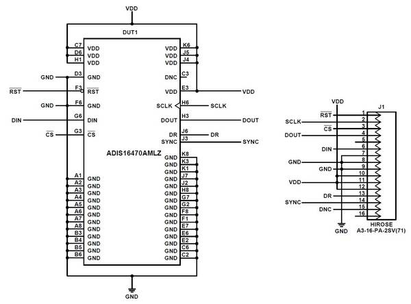 ADIS1647x/PCBZ BREAKOUT BOARD WIKI GUIDE [Analog Devices Wiki]