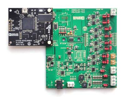 SDP-B Controller Board and EVAL-AD7328SDZ