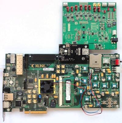 EVAL-AD7328SDZ and Xilinx KC705 board