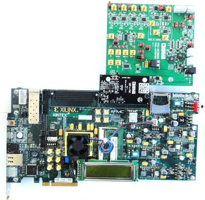 EVAL-AD7367SDZ and Xilinx KC705 board