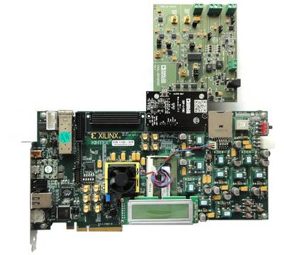 EVAL-AD7492SDZ and Xilinx KC705 board