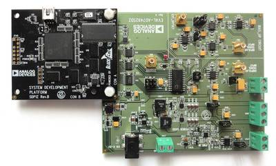 SDP-B Controller Board and EVAL-AD7492SDZ