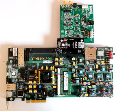 EVAL-AD7693SDZ and Xilinx KC705 board