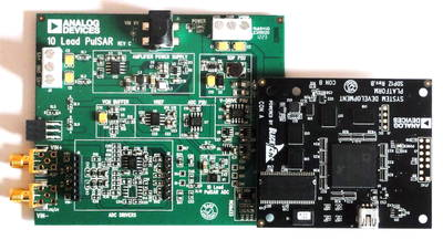 SDP-B Controller Board and EVAL-AD7693SDZ