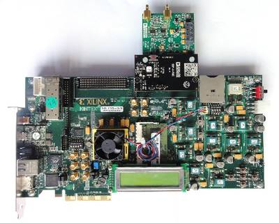EVAL-AD7942SDZ and Xilinx KC705 board