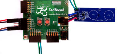 PmodCDC1 and ZedBoard