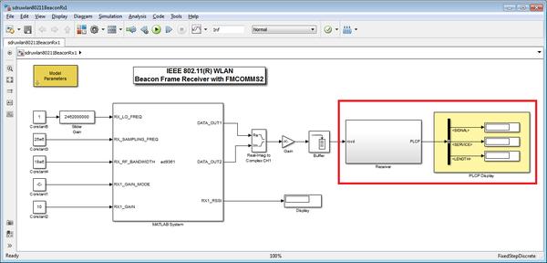 Beacon Frame Receiver Example [Analog Devices Wiki]