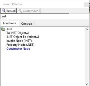 Object view labview