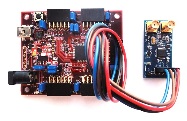 AD5933 - No-OS Driver for Microchip Microcontroller Platforms