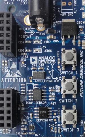 ADXL345 - No-OS Driver for Renesas Microcontroller Platforms