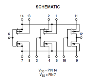 CD4007 bypass: how does this work