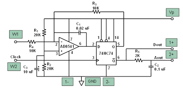 A F on Function Generator Circuit Diagram
