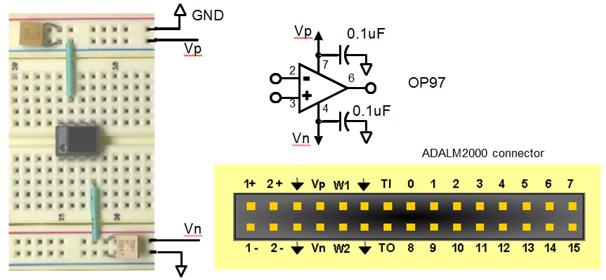 activity 1 simple op amps [analog devices wiki]figure 1 1 power connections