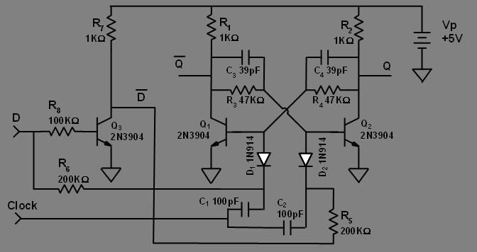 activity 24 bjt multivibrators [analog devices wiki]figure 11 d type flip flop