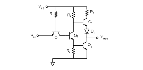Activity: TTL inverter and NAND gate [og Devices Wiki] on 74ls00 nand gate diagram, is is not diagram, cmos diagram,