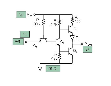 ttl inverter circuit schematic wire data schema u2022 rh lemise co