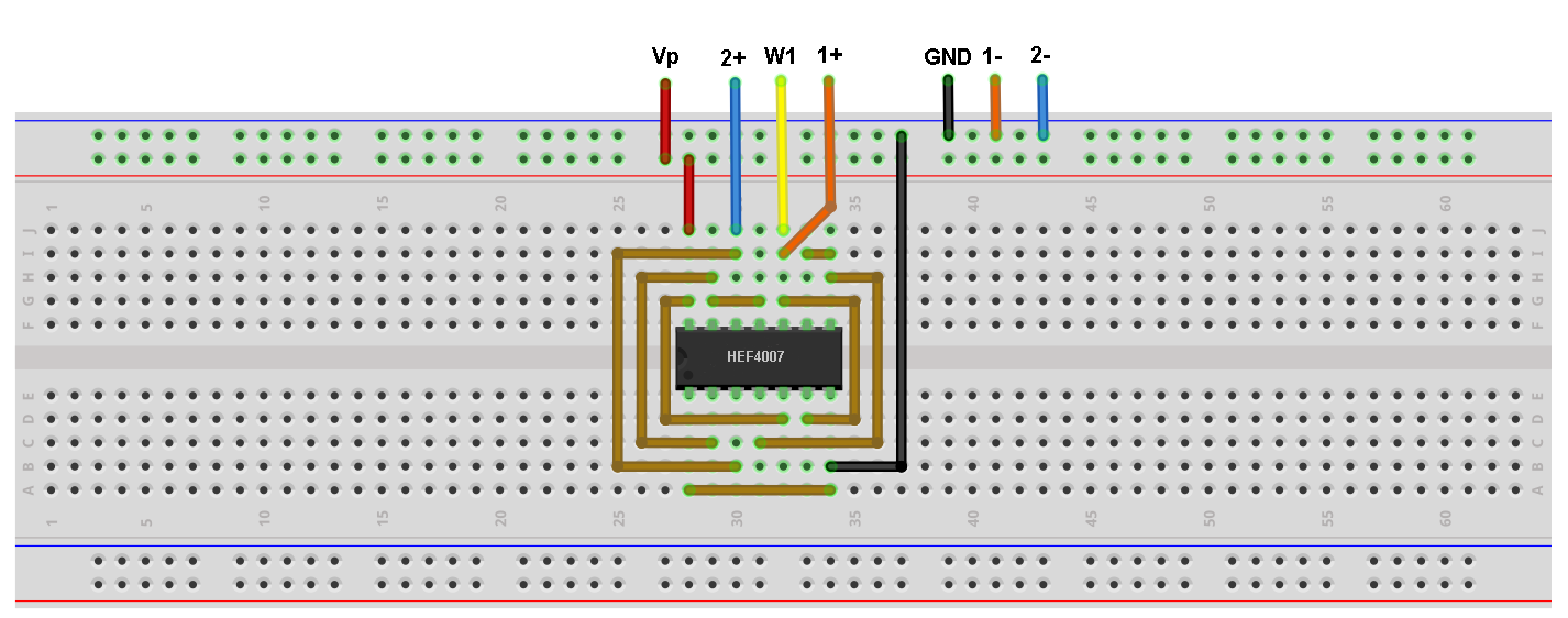Build CMOS Logic Functions Using CD4007 Array [Analog Devices Wiki]