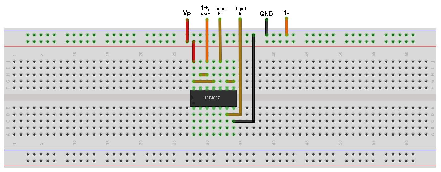 Build CMOS Logic Functions Using CD4007 Array [Analog