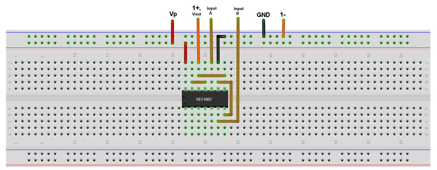 Build Cmos Logic Functions Using Cd4007 Array Analog Devices Wiki How To Electronic Circuit Figure