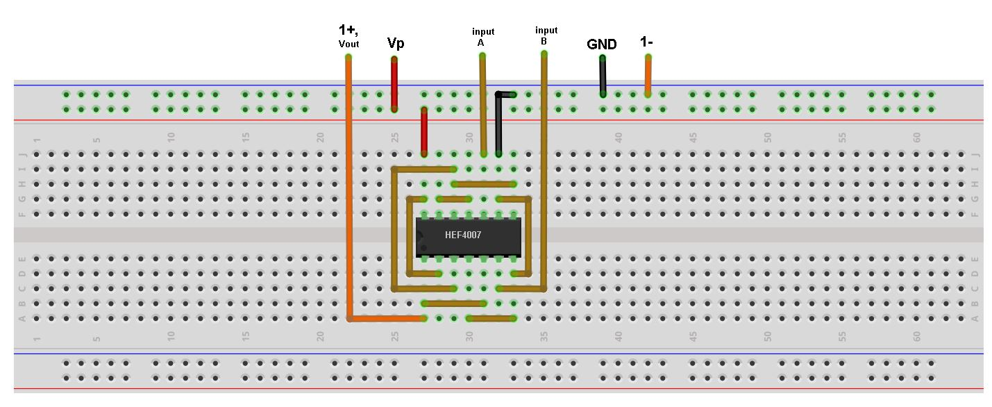 Build Cmos Logic Functions Using Cd4007 Array Analog Devices Wiki Circuit Can Be Soldered On Small Veroboard The Multivibrator Figure