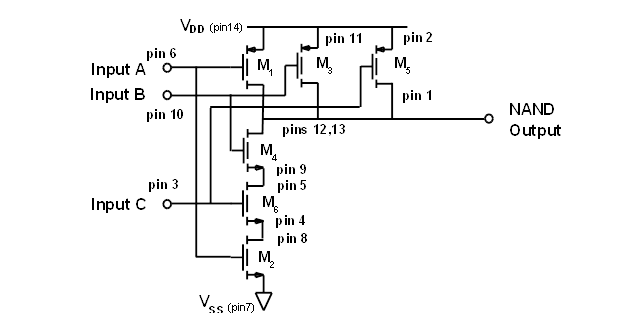 Cmos Nand Diagram Best Electrical Circuit Wiring Diagram