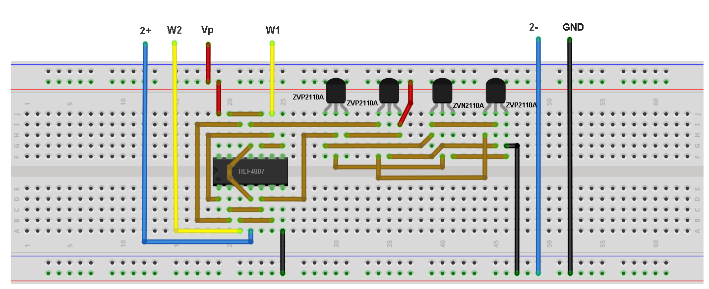 Activity Cmos Logic Circuits D Type Latch Analog Devices Wiki Diagram Figure 3 Breadboard Connections