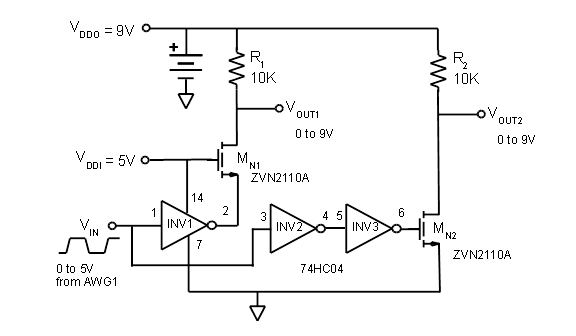 activity voltage level shifting analog devices wiki rh wiki analog com voltage level shifter circuit diagram Basic DC Circuits