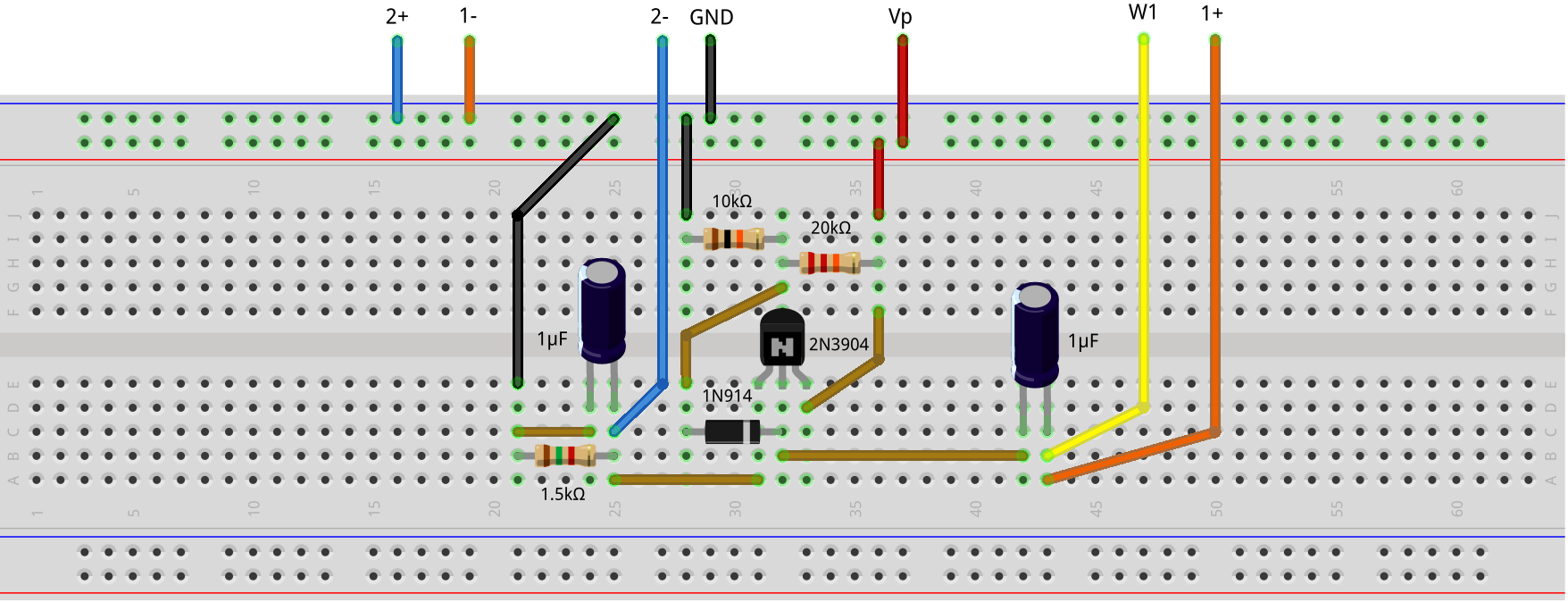 Activity Envelope Detector Analog Devices Wiki Bias Understand This Filter And Biasing Circuit Electrical Hardware Setup Build The Following Breadboard For Biased
