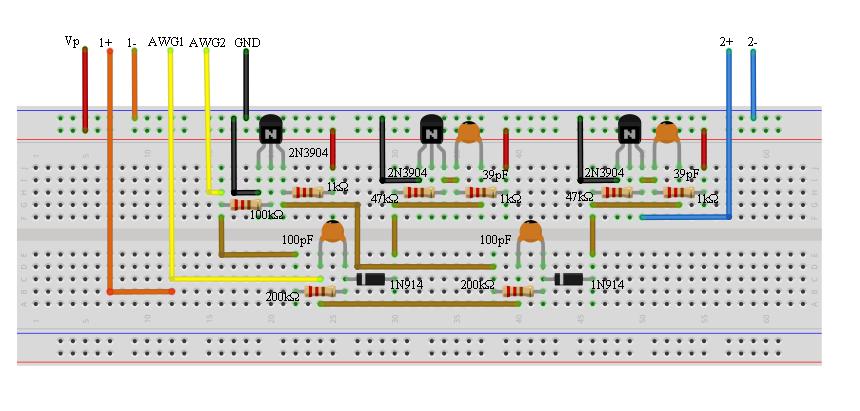 activity 24 bjt multivibrators analog devices wiki rh wiki analog com Solderless Breadboard Projects Breadboard Accessories