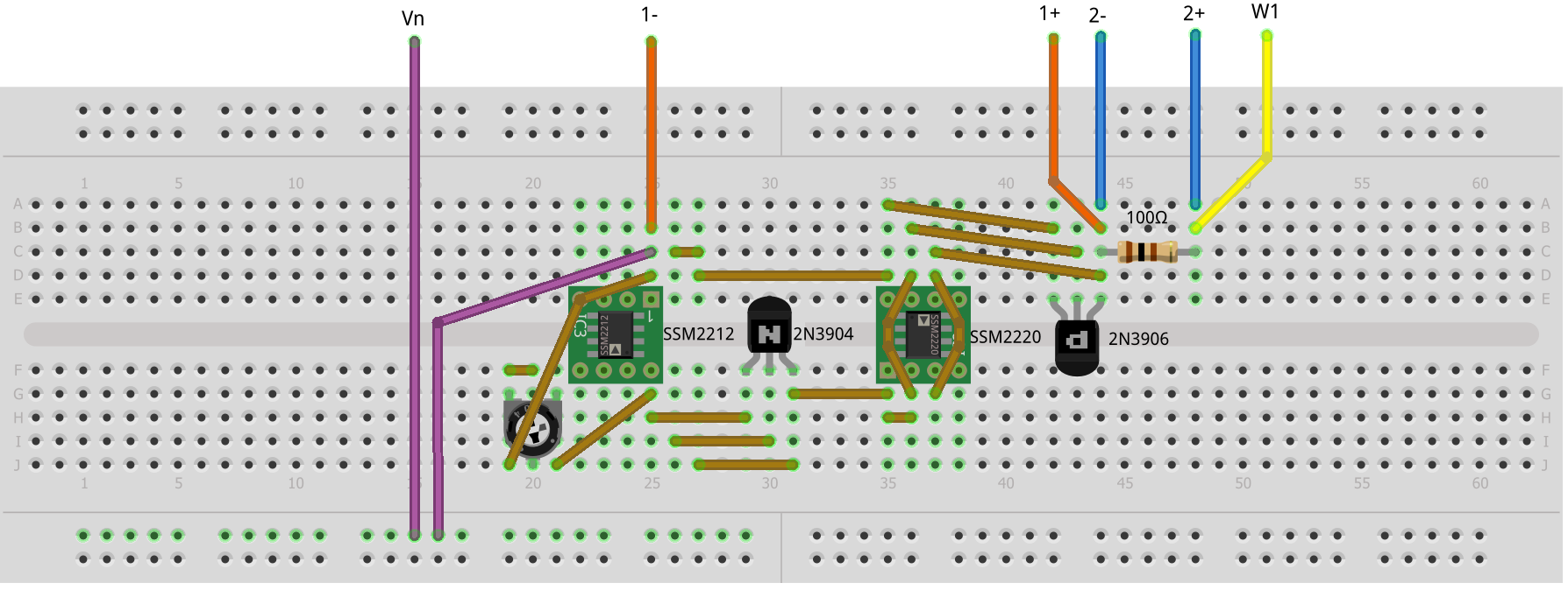 Activity 8a A Floating Two Terminal Current Source Sink Analog Related Links Circuit More Dual Power Supply Figure 2 As Tied To Negative Breadboard