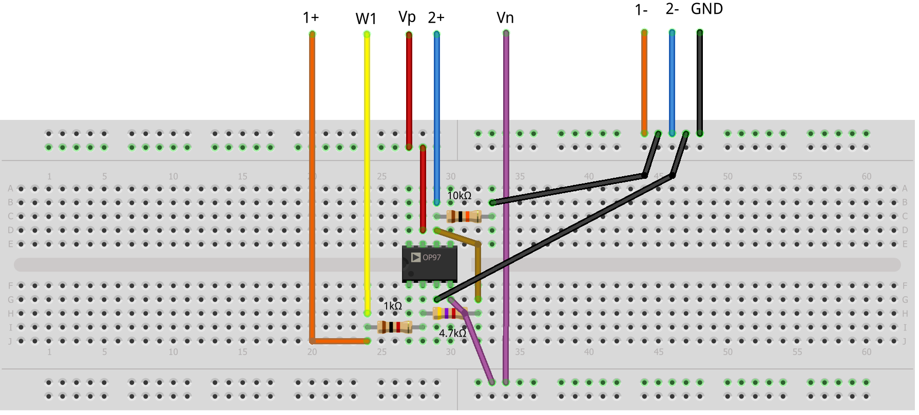 Circuit Diagram Using Breadboard Wiring Library Led Clock Design On Fritzing Barkeng Mad Inverting Amplifier