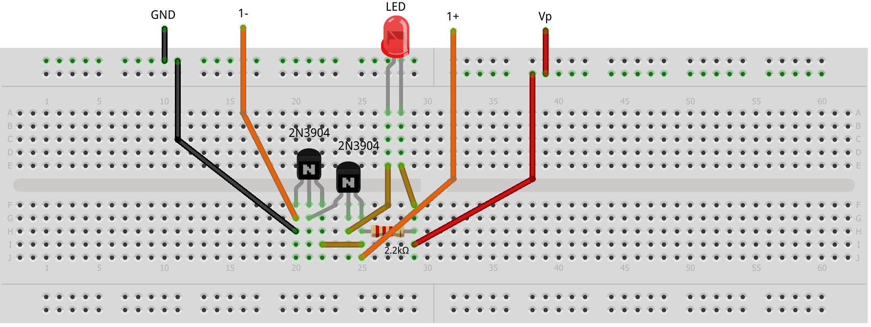 Activity Led As Light Sensor Analog Devices Wiki Electronic Circuit Design Objective Questions Step 2 Hardware Setup