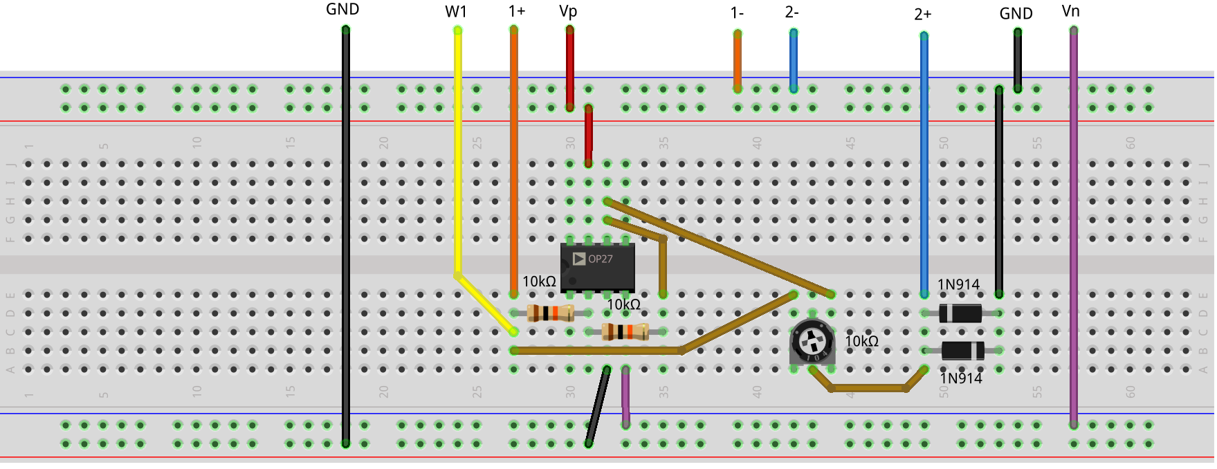 Op Amp Settling Time Analog Devices Wiki Much The Same Can Be Done With An Inverting Opamp Amplifier Using A Figure 3