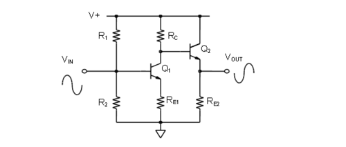 Chapter 10 multi stage amplifier configurations analog devices wiki figure 1011 common ccuart Image collections