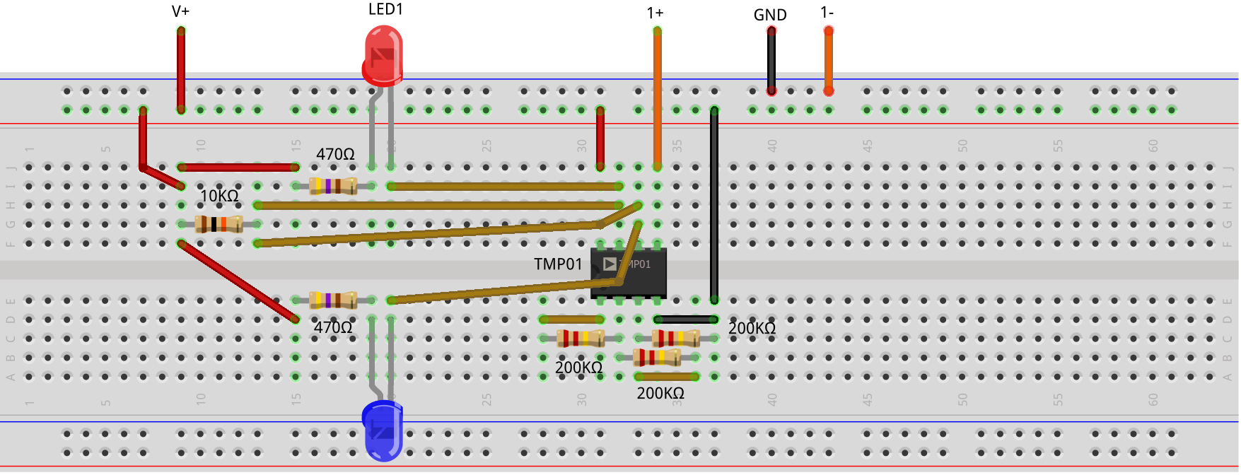 Activity Temperature Control Using Window Comparator Analog Alarm With Op Amp Figure 6