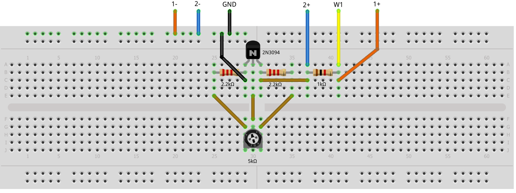 Activity 3 The Bjt Connected As A Diode Analog Devices Wiki Input And Output Coupling Bipolar Junction Transistors Electronics Hardware Setup
