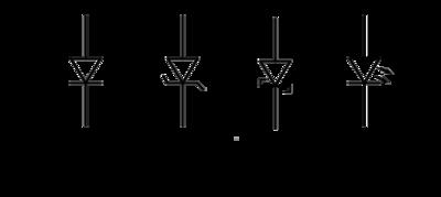 current voltage relationship for diode symbol